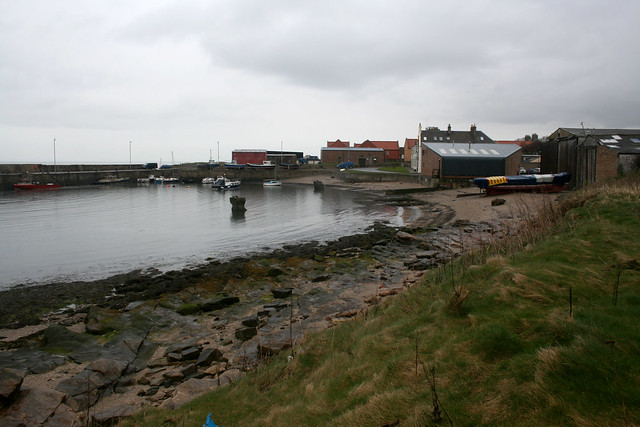 The harbour at Cockenzie and Port Seton