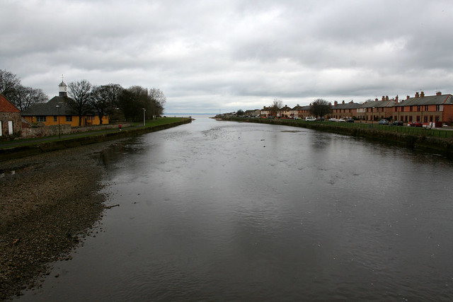 The River Esk, Musselburgh