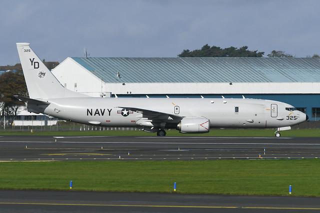 169325 Boeing P8A Poseidon EGPK 12-10-19