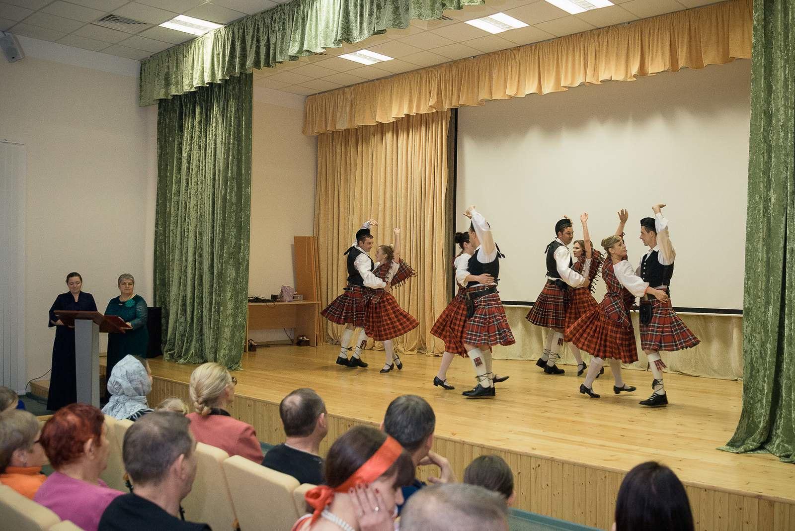 Шотландский танец как дань стране, откуда пришел в Россию основатель рода Лермонтовых
