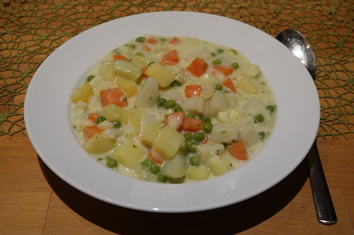 Sahniger Gemüseeintopf
