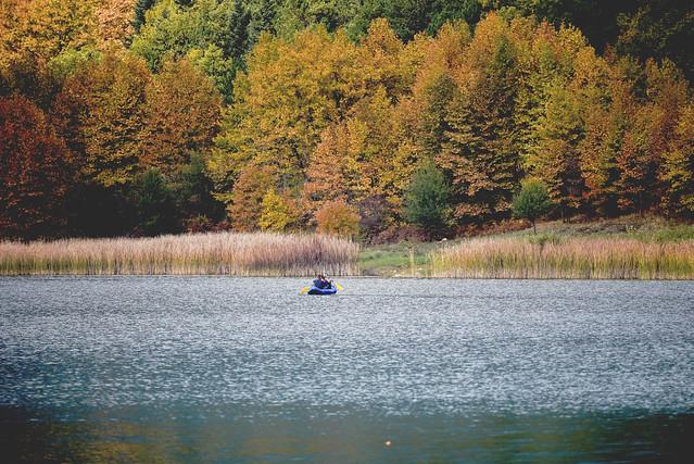 canoeing - doxa lake