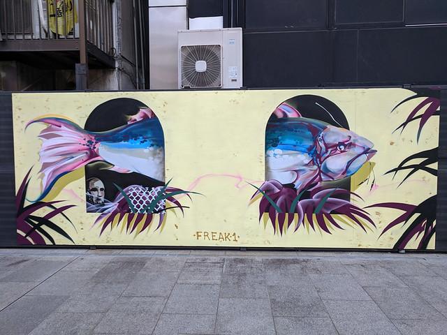 Dotonbori mural