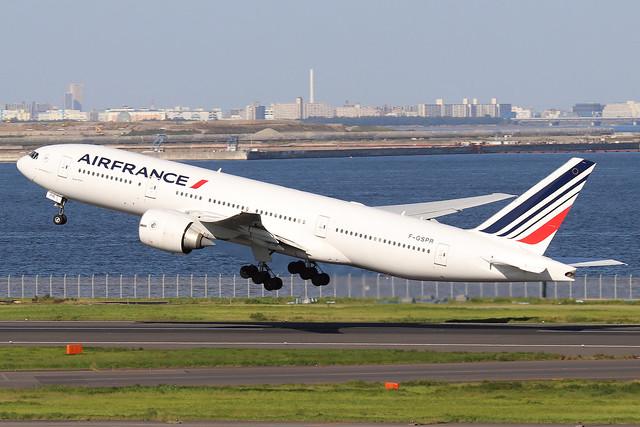 F-GSPR  -  Boeing 777-228ER  -  Air France  -  HND/RJTT 9/10/19
