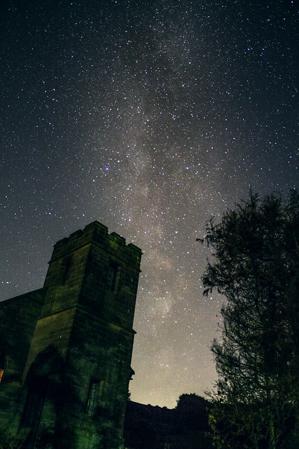 Milky Way Over the Old Methodist Church 29/10/19