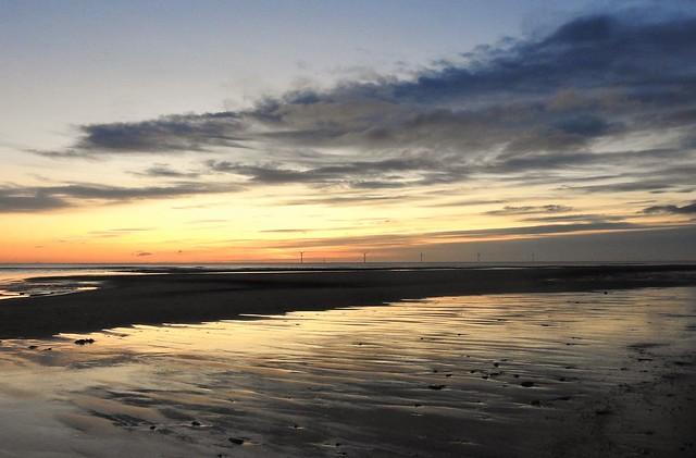Cambois Beach Sunrise - Northumberland