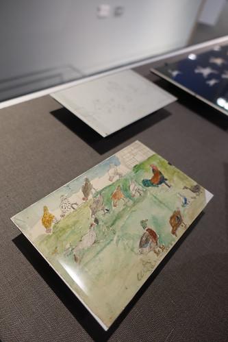Childrens artwork (birds)