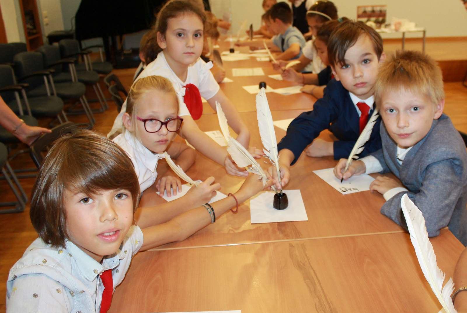 Интерактивные занятия в билингвистической гимназии «Мир» в Афинах