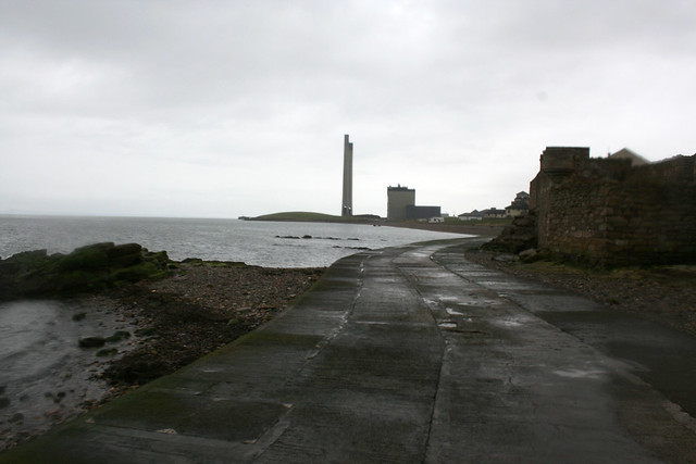 The coast near Cockenzie