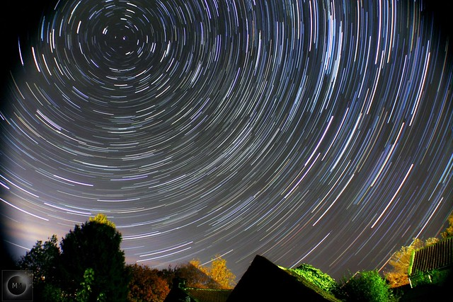 1 Hour Star Trails from Yorkshire 29/10/19
