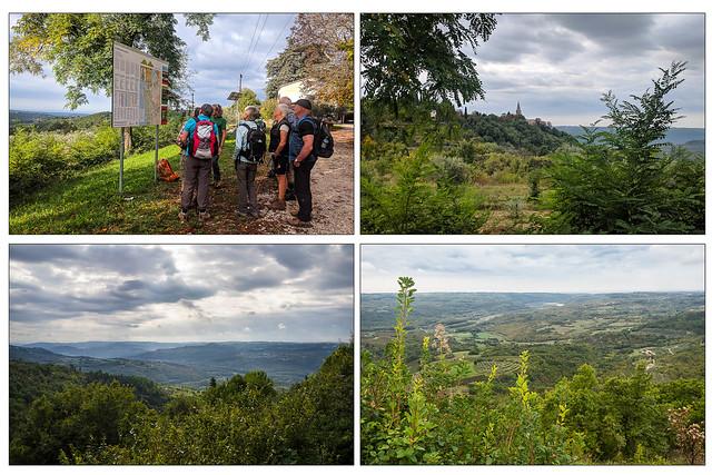 Wandern  Istrien-  Groznjan - Parenzana - Oprtalj 1