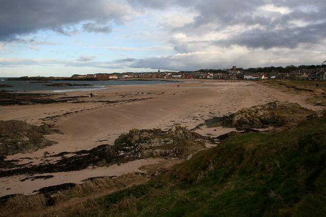 The beach at North Berwick