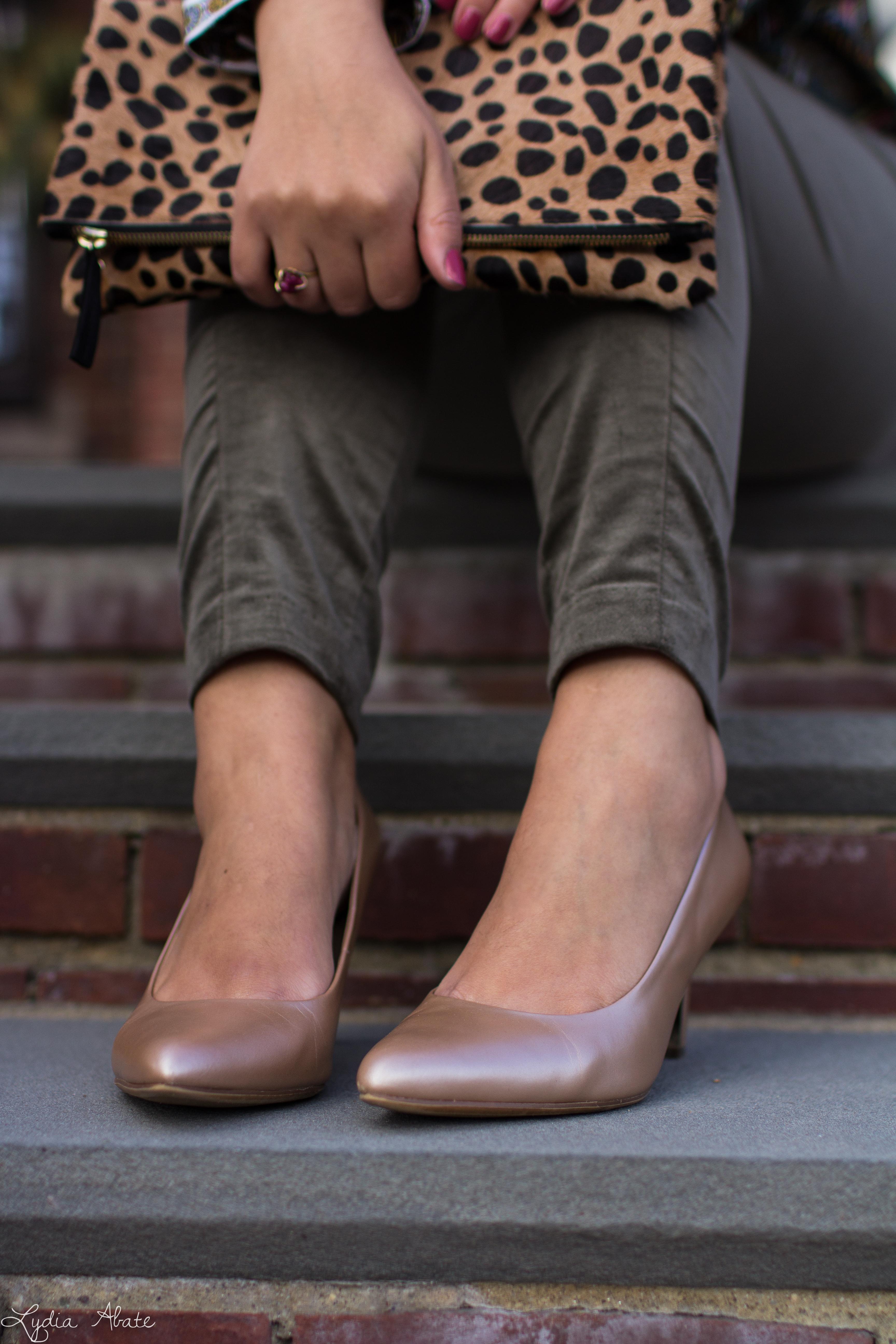 jungle print top, leopard clutch, green velvet pants, nude heels-9.jpg