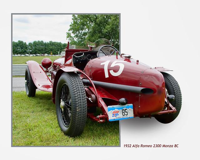 1932 Alfa Romeo 2300 Monza 8C