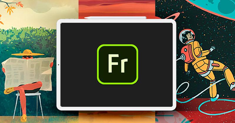 Adobe Fresco ya está disponible en Windows