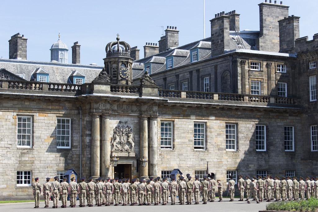 Palace of Holyroodhouse, Edinburgh