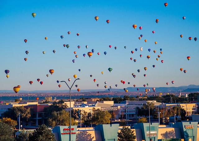 Albuquerque Balloon Fiesta 2019 - Mass Ascension