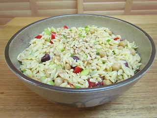 Orzo and Chickpea Salad