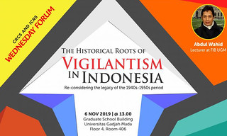 The Historical Roots of Vigilantism in Indonesia