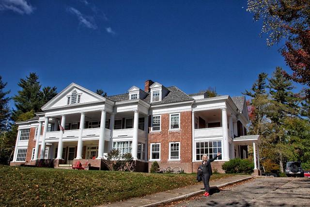 Saranac Lake - New York  ~ Prescott House ~ AKA ~ The Reception Hospital ~ Historical - Staying at the AirBnB