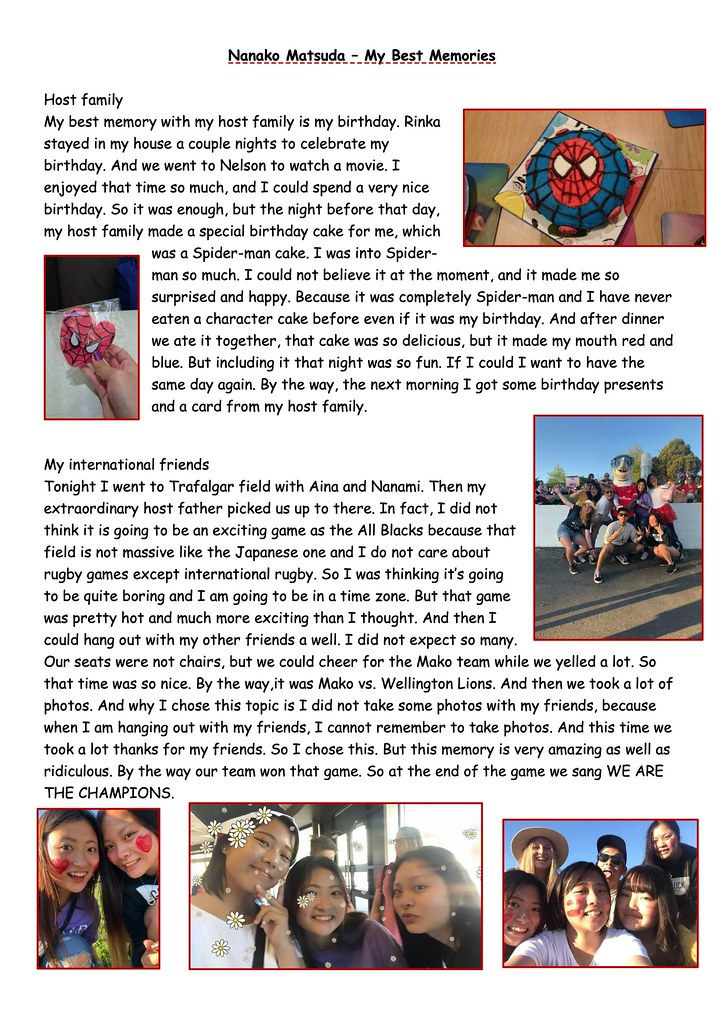 My Best Memories - November 4