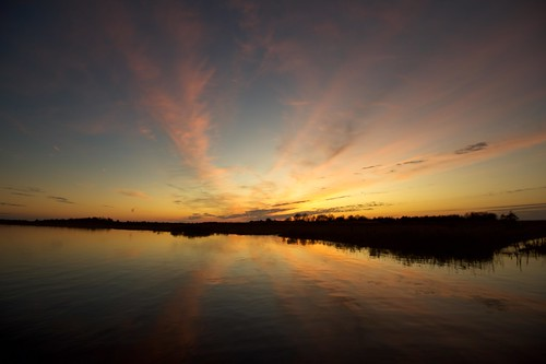 cedarbonnetisland manahawkin sunset reflection wetreflections reflections horizon landscape odc