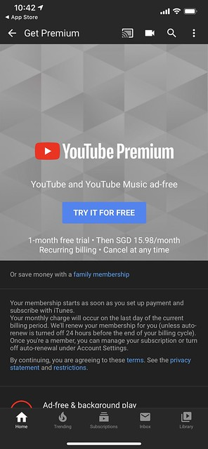 YouTube Premium - Individual