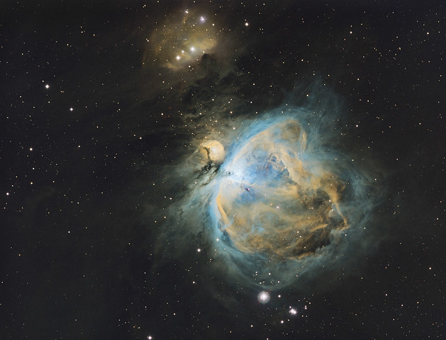 Orion Nebula in Narrowband