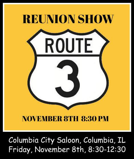 Route 3 Reunion 11-8-19