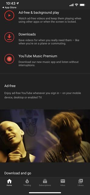 YouTube Premium - Features #1