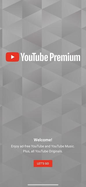 YouTube Premium - Home