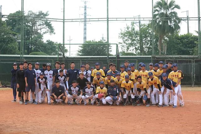 20191105棒球交流賽 vs. 台電