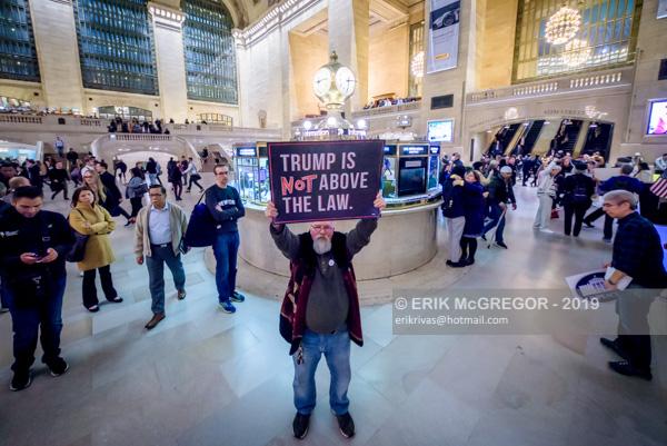 Rise And Resist activists demand Trump's impeachment
