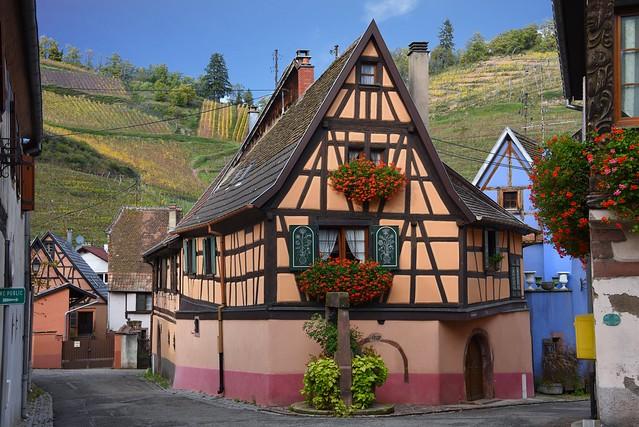 Niedermorschwihr (Alsace, F)