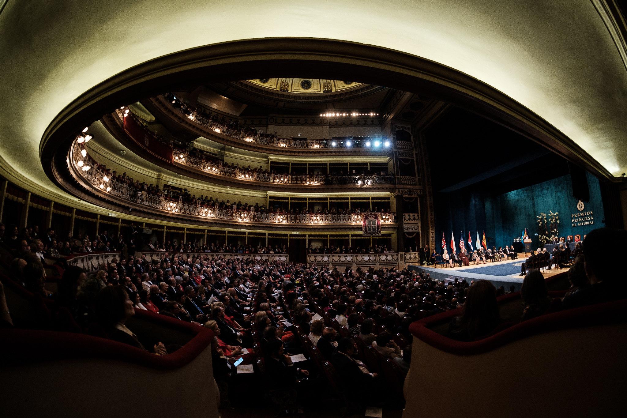 Teatro Campoamor. Foto: FPA Yeray Menéndez