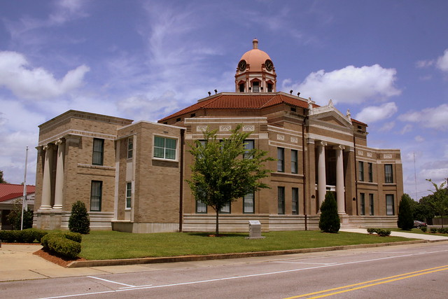Lamar County Courthouse (old) - Purvis, MS