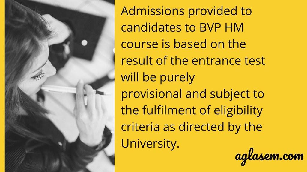 BVP HM 2020 Selection Criteria