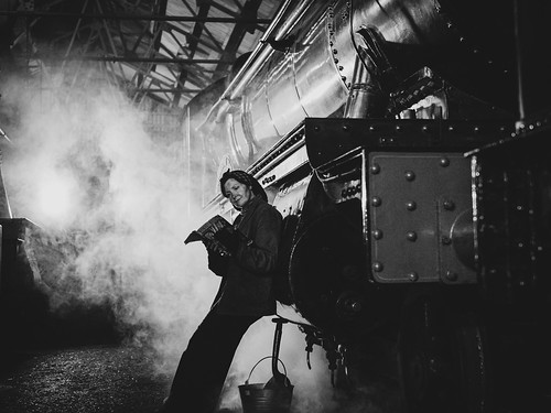 Late Night in the Steam Engine Shed