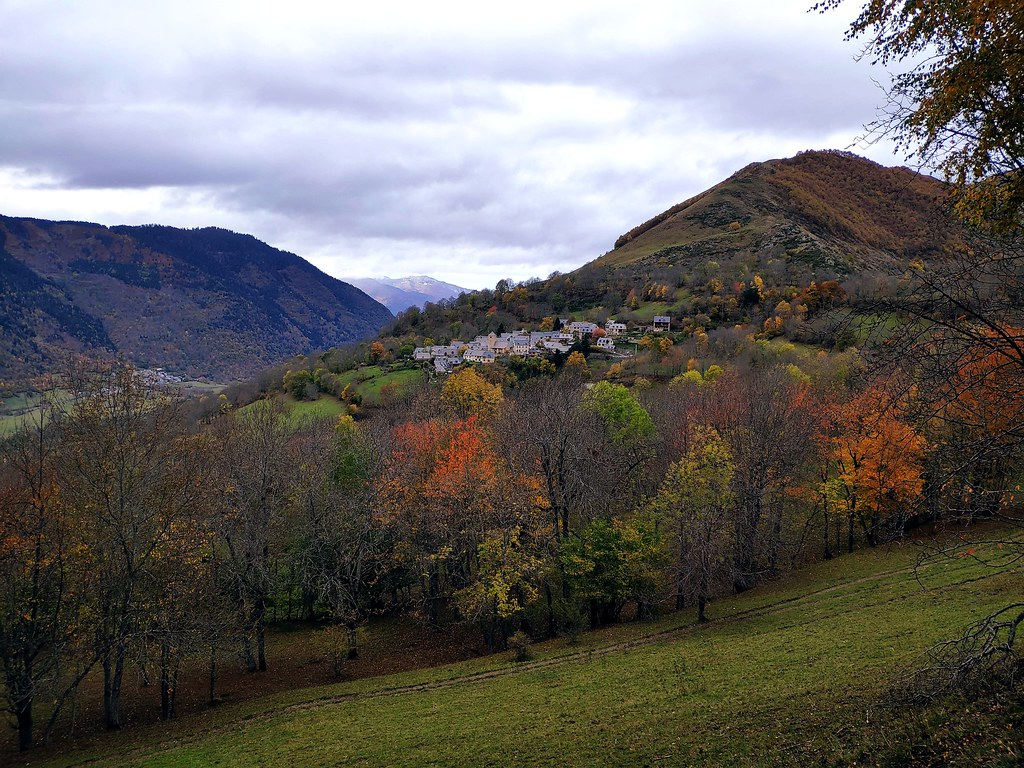 Les couleurs d'automne sur le Louron