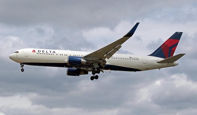 N177DZ EGLL 06-07-2019 Delta Air Lines Boeing 767-332(ER) CN 29698