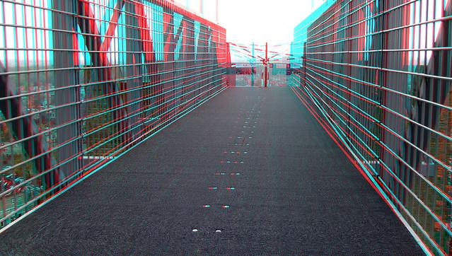 Loopbrug St-bavo Haarlem 3D
