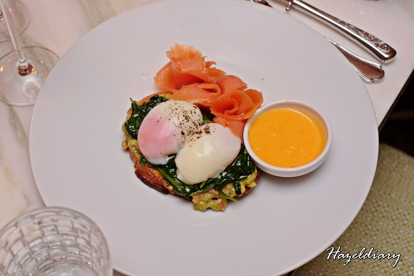 six Senses Brasserie -The Weekender's Brasserie Brunch-Egg benedicts