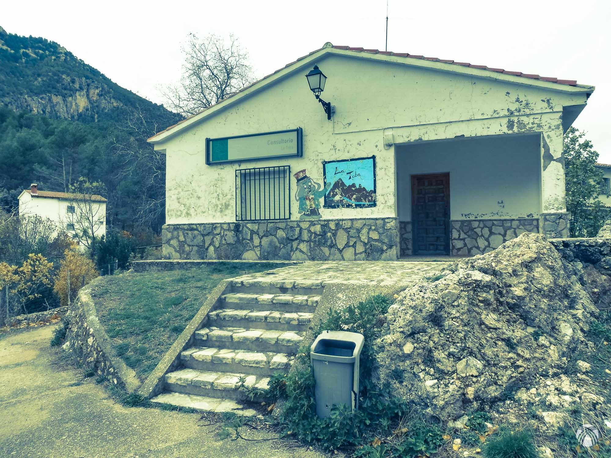 Viejo consultorio en la Toba
