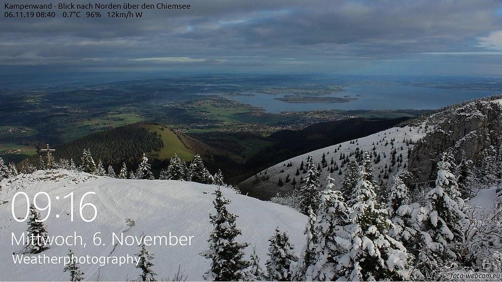 Wetter Chiemgau Oberbayern