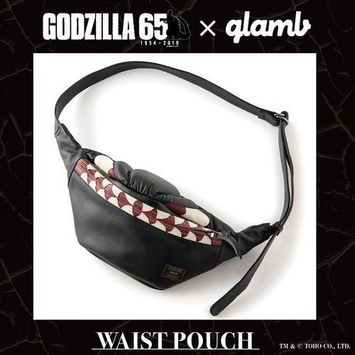 設計感十足的潮流老哥!「Godzilla × glamb」聯名 哥吉拉腰包(ゴジラ コラボレーション ウエストバッグ)65週年紀念系列
