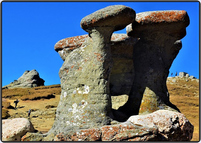 """Babele"" (""Old women"") giant megalith in Bucegi Mountains, Romania  - 2300 m altitude"