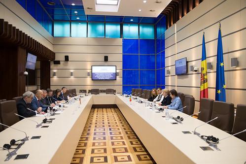 06.11.2019 Întrevederea Președintelui Parlamentului, Zinaida Greceanîi cu delegația Grupului pentru relații interparlamentare cu Republica Moldova din cadrul Seimas-ului Republicii Lituania