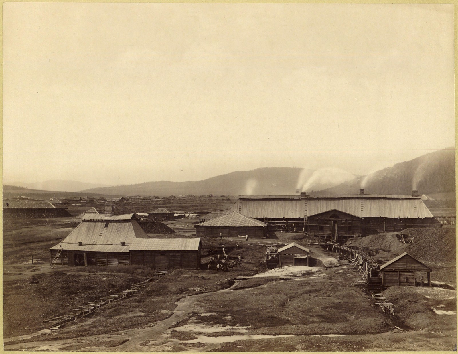 07. Кутомарский сереброплавильный завод с восточной стороны