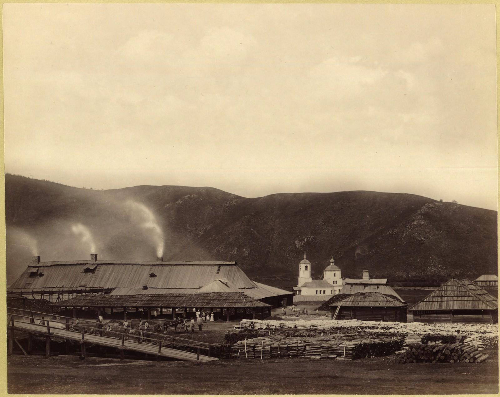 05. Кутомарский сереброплавильный завод с западной стороны
