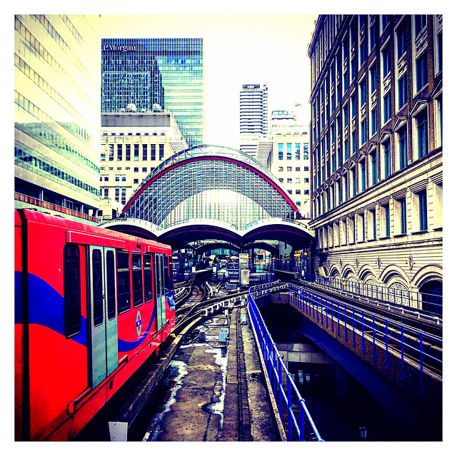 All Aboard The Docklands Light Railway